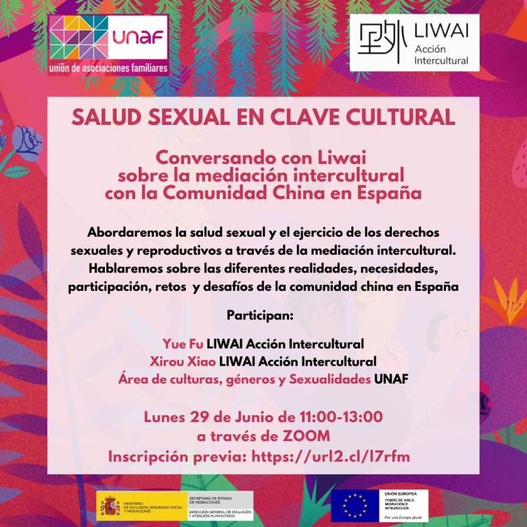 Conversatorio con UNAF sobre la mediación intercultural con la Comunidad China en España